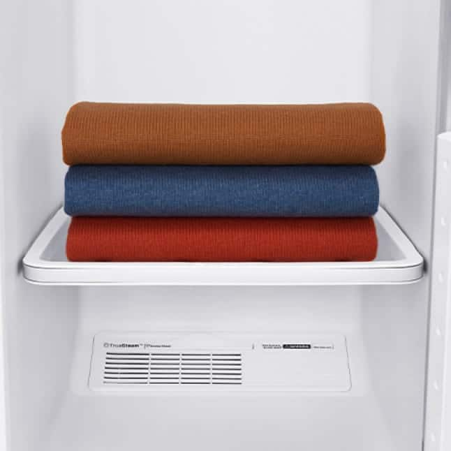 Drying rack eliminates hanger marks