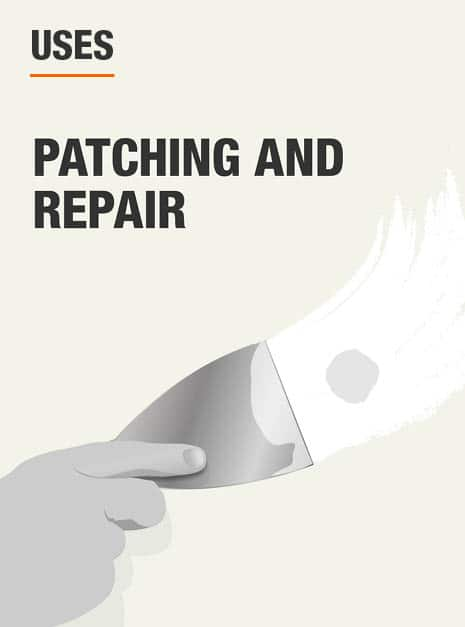 Use for patching and repair.
