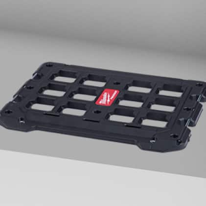 mounting plate with 100 lb. horizontal weight capacity