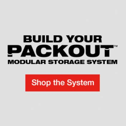 Milwaukee Mounting Plate part of the PACKOUT Modular Storage System