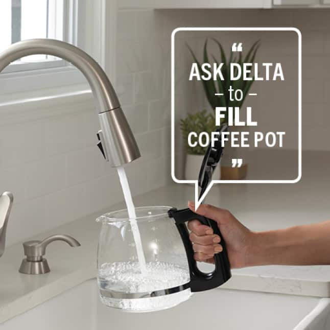 Ask Delta to Fill Coffee Pot