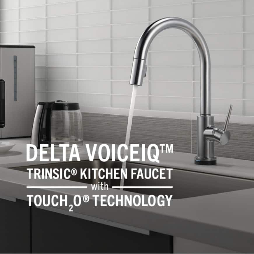 Trinsic pull-down kitchen faucet