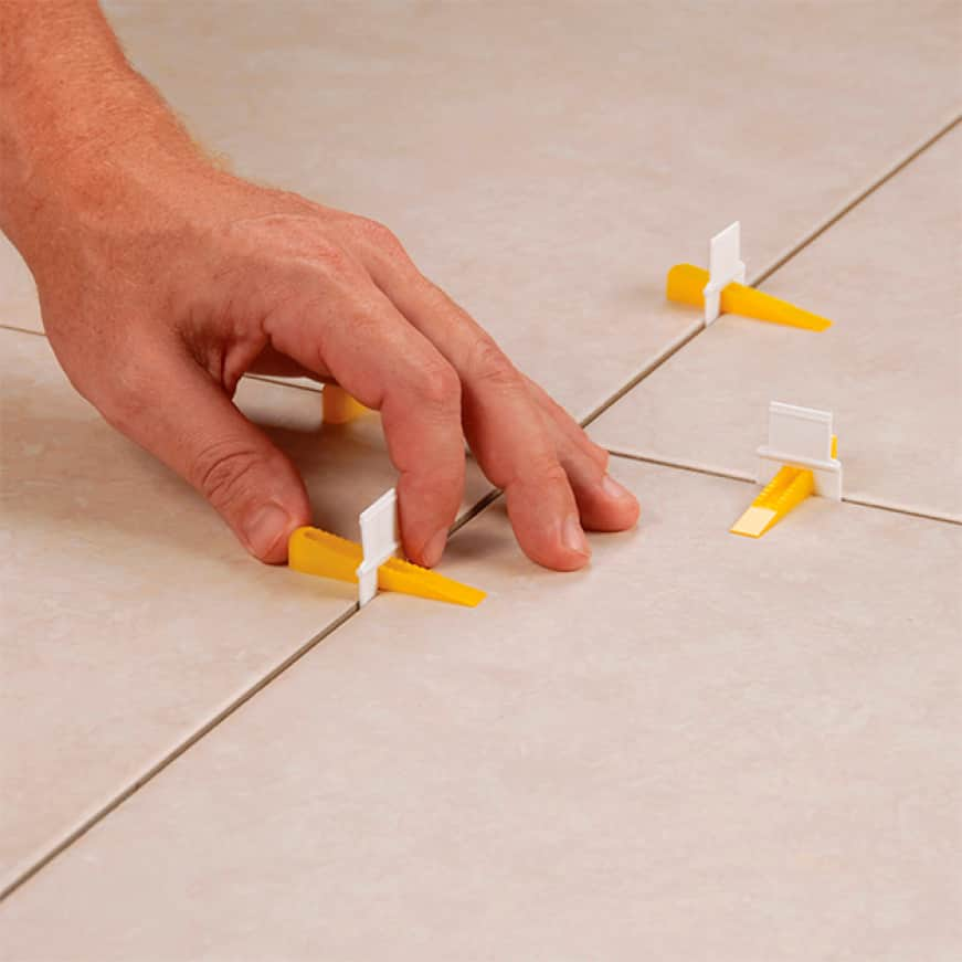 Lippage occurs when there are differences in height between the tiles causing an uneven tile surface