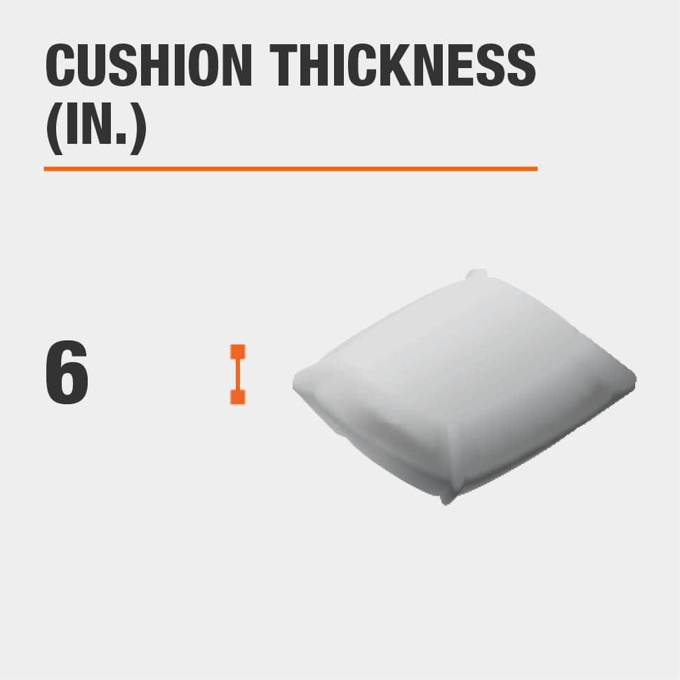 Cushion Thickness (in.) 6