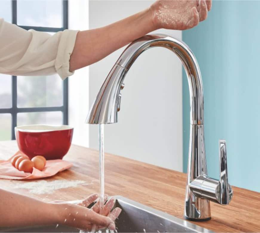 LadyLux 2 Kitchen Faucet with Touch Technology