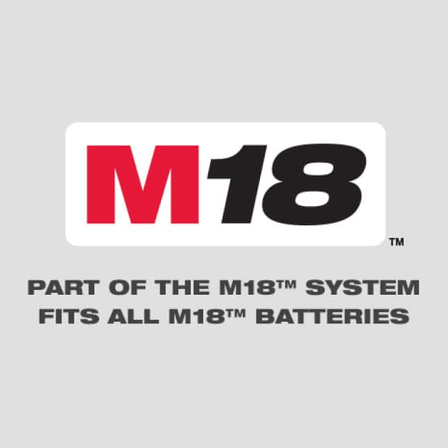 A part of the M18(Tm) system offering more than 200+ solution on one battery platform