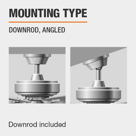 Angle Mount Ceiling Fan With Download