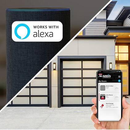 Genie has been making safe, reliable garage door openers for over 65 years Aladdin Alexa