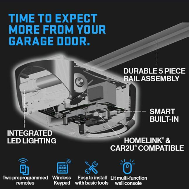 Genie has been making safe, reliable garage door openers for over 65 years powerful