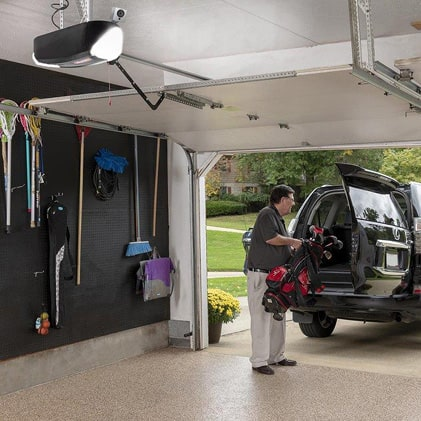 Genie has been making safe, reliable garage door openers for over 65 years LED