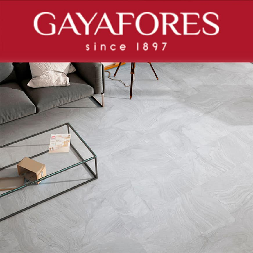 Porcelain for wall and floor tile with dramatic and exclusive designs to upgrade living spaces with decorative solutions