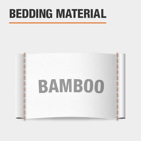 Duvet cover is made of bamboo material