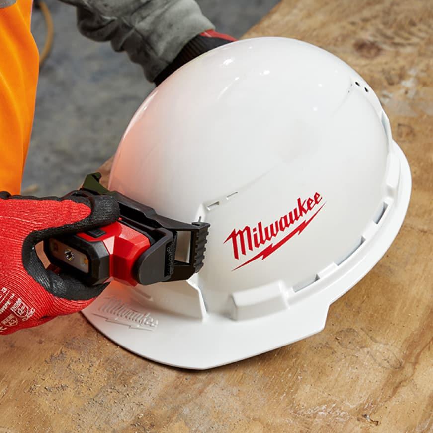 Milwaukee Type 1 Front Brim Hard Hats