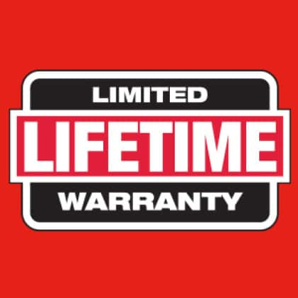 Hi vis safety vest has limited lifetime warranty