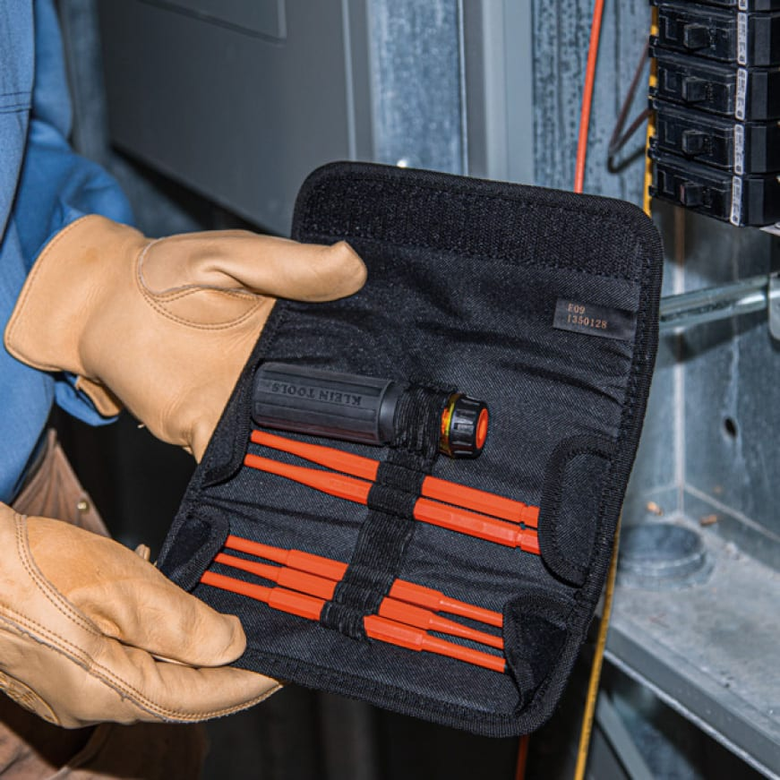 Klein Tools' Insulated Interchangeable Screwdrivers