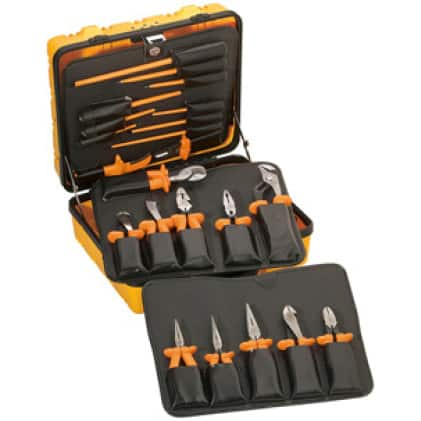 Klein Tools 33527 Insulated Tool Kit, 22-Piece