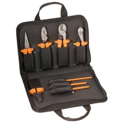 Klein Tools 33529 Premium Insulated Tool Kit, 8-Piece