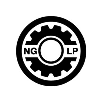 Natural Gas or LP Gas Operation