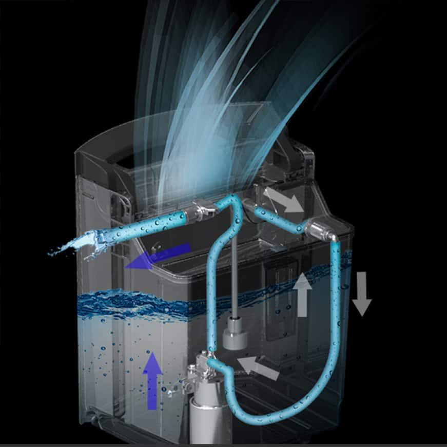 Drain pump schematic