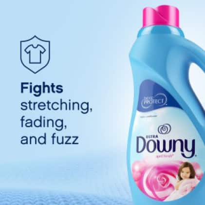 Downy fights stretching fading and fuzz