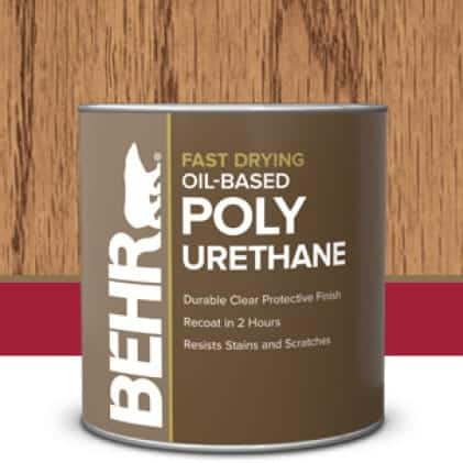 Behr's Interior Polyurethane Oil-base Product