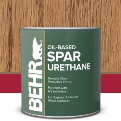 Behr's Spar Urethane can
