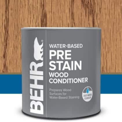 Behr's Pre-Stain Wood Conditioner Can
