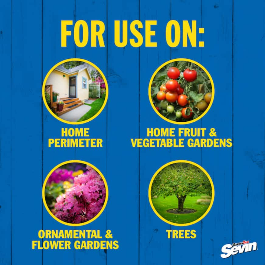 Sevin Ready-To-Use Insect Killer Power Sprayer usage