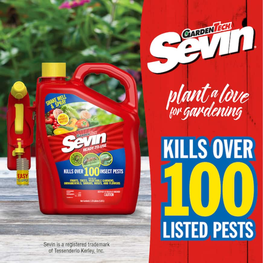 Sevin Ready-To-Use Insect Killer Power Sprayer