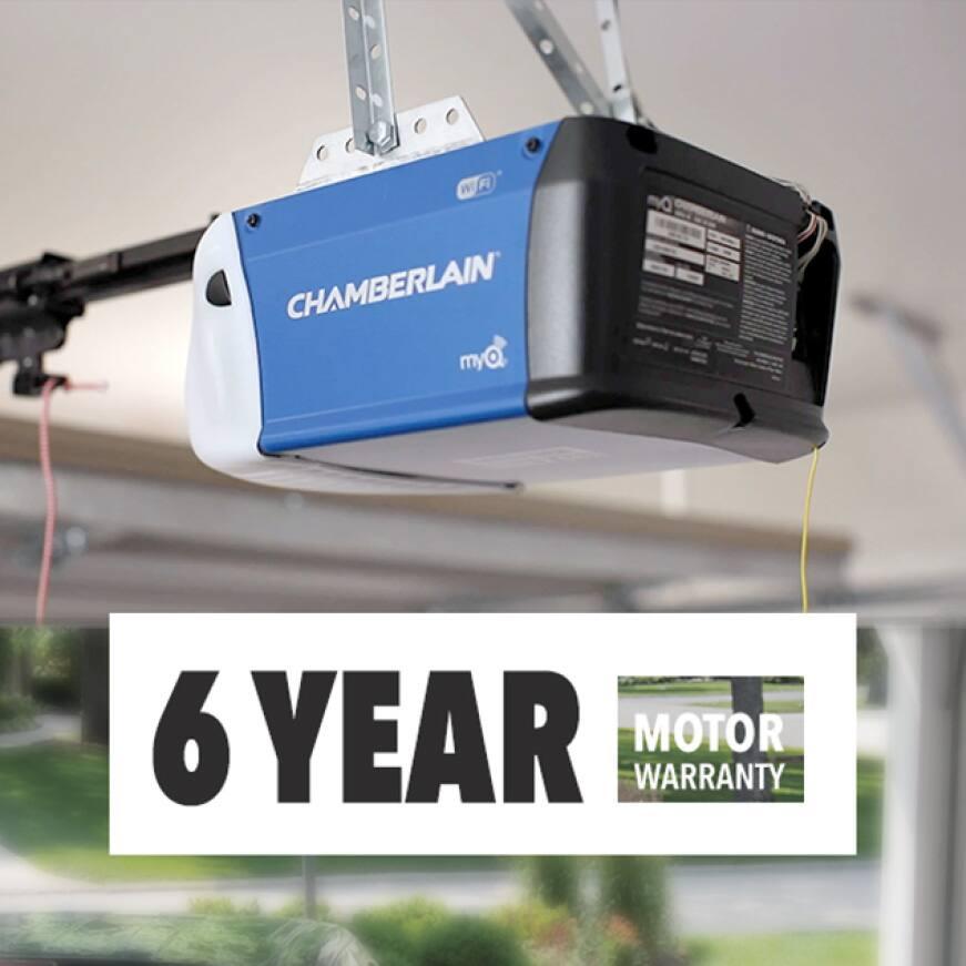 Chamberlain Highest Rated Warranty