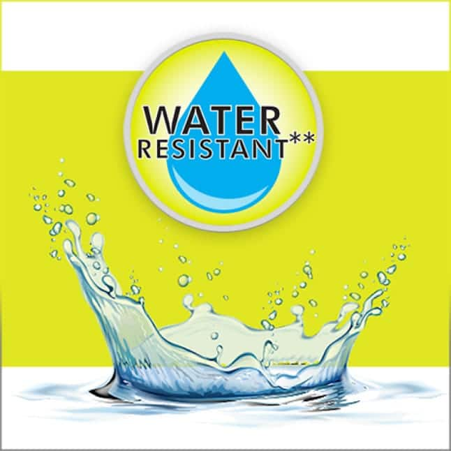 IPX7 Water Resistance Rating