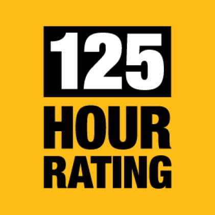 Dewalt 125 Hour Rated Engine
