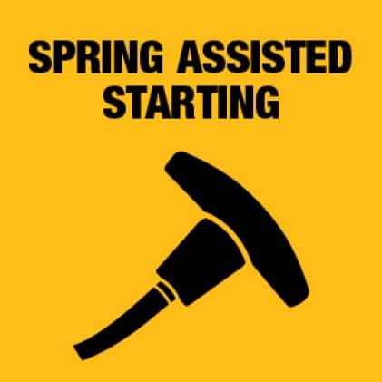 Dewalt Spring Assisted Starting