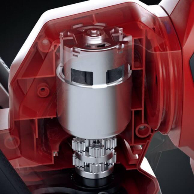 3D rendering of Powerful 60v Motor