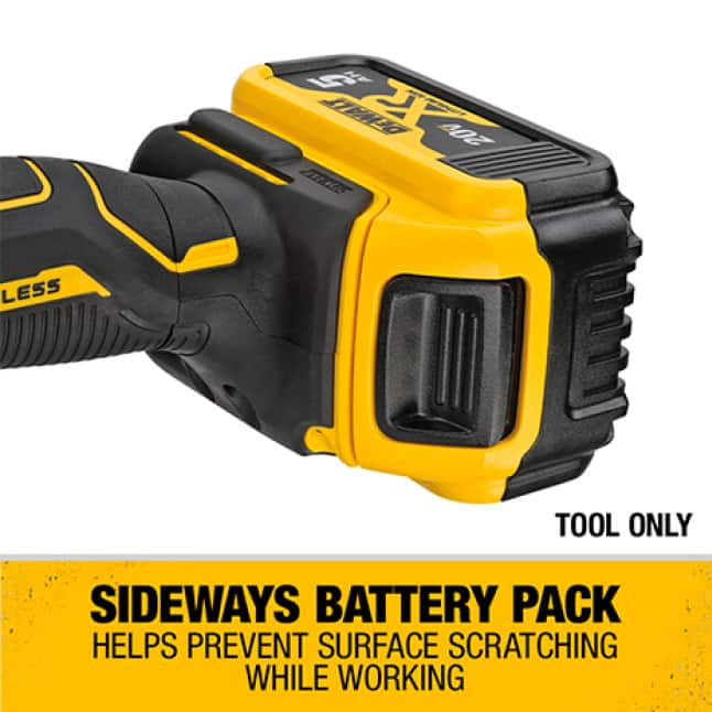 Helps prevent surface scratching while you work.