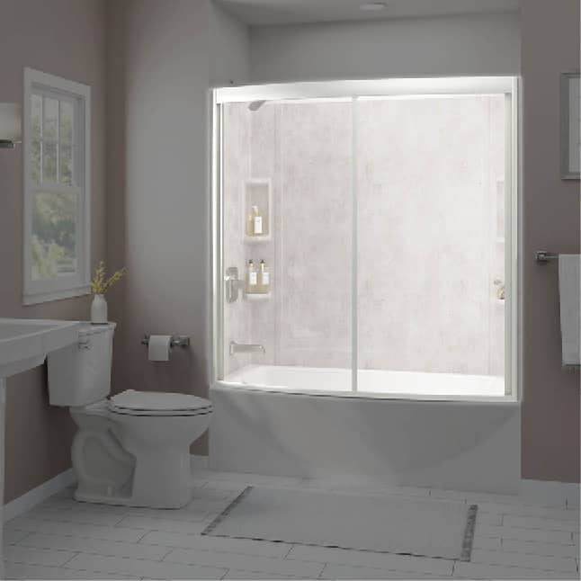 American Standard Ovation Curved Bathtub Door