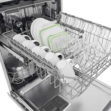 Get remarkably dry dishes with EvenDry system