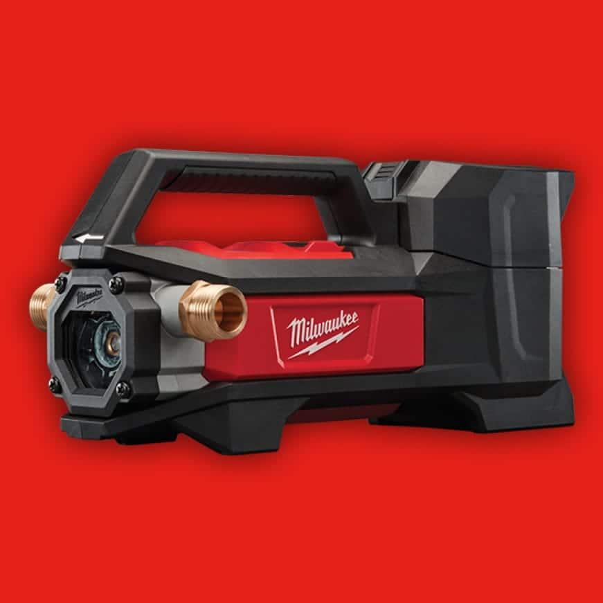 An innovative self-priming pump, you can connect and go quicker than ever.