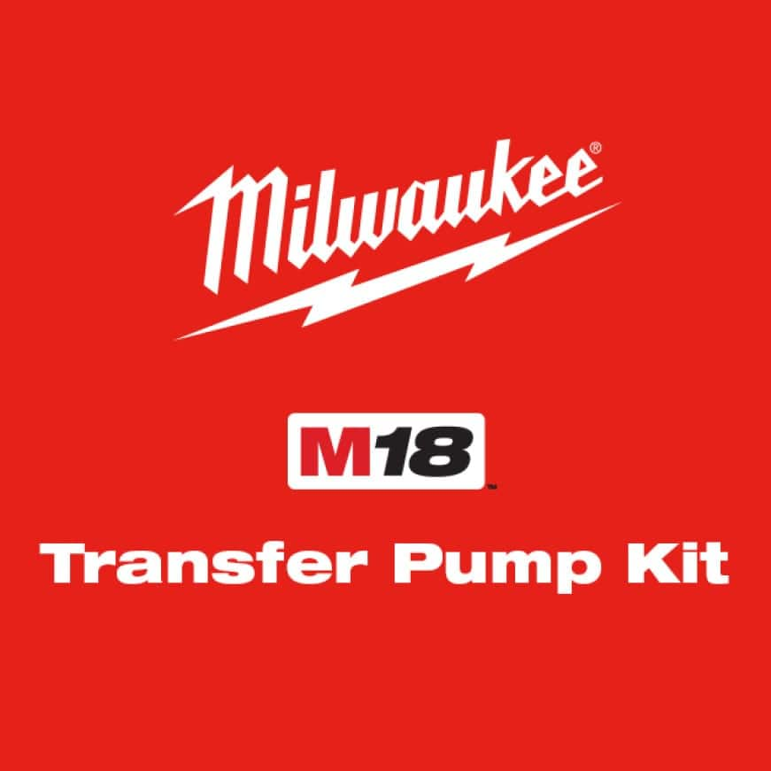 The industry's first cordless water transfer pump with the fastest setup in the marketplace.