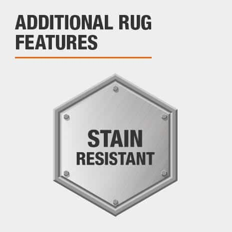 Rug is Stain Resistant