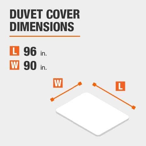Duvet cover dimensions