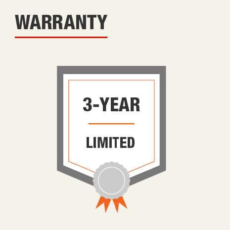 Husky 12 inch Document Bag has a Limited Warranty of 5 Years