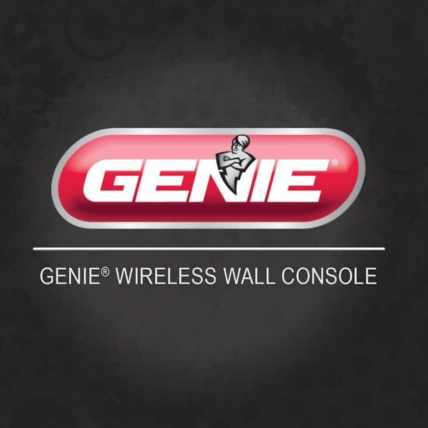 Genie garage door opener wireless console