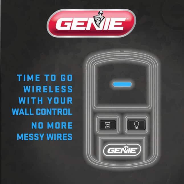 Genie garage door opener wireless console  new garage