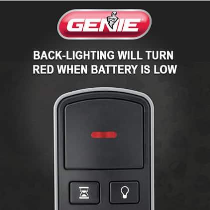 Genie garage door opener wireless console  red