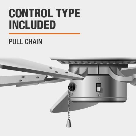 Pull Chain Ceiling Fan