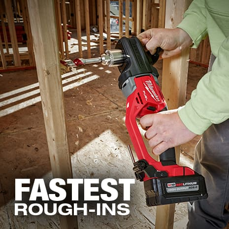 Delivers indsutries fastest rough in