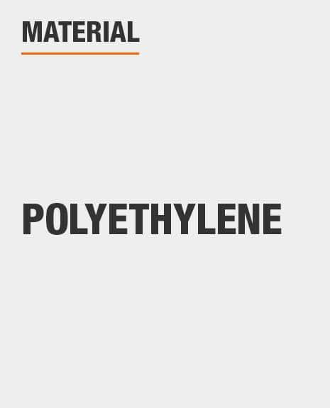 Polyethylene tarp