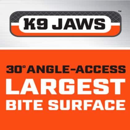 Patented K9 Jaw Technology