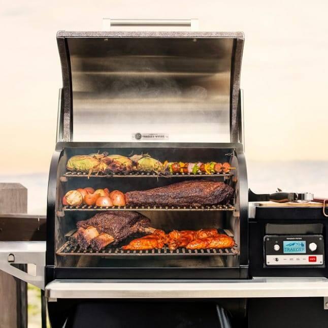 Traeger Grills - Versatility - Food on Grill